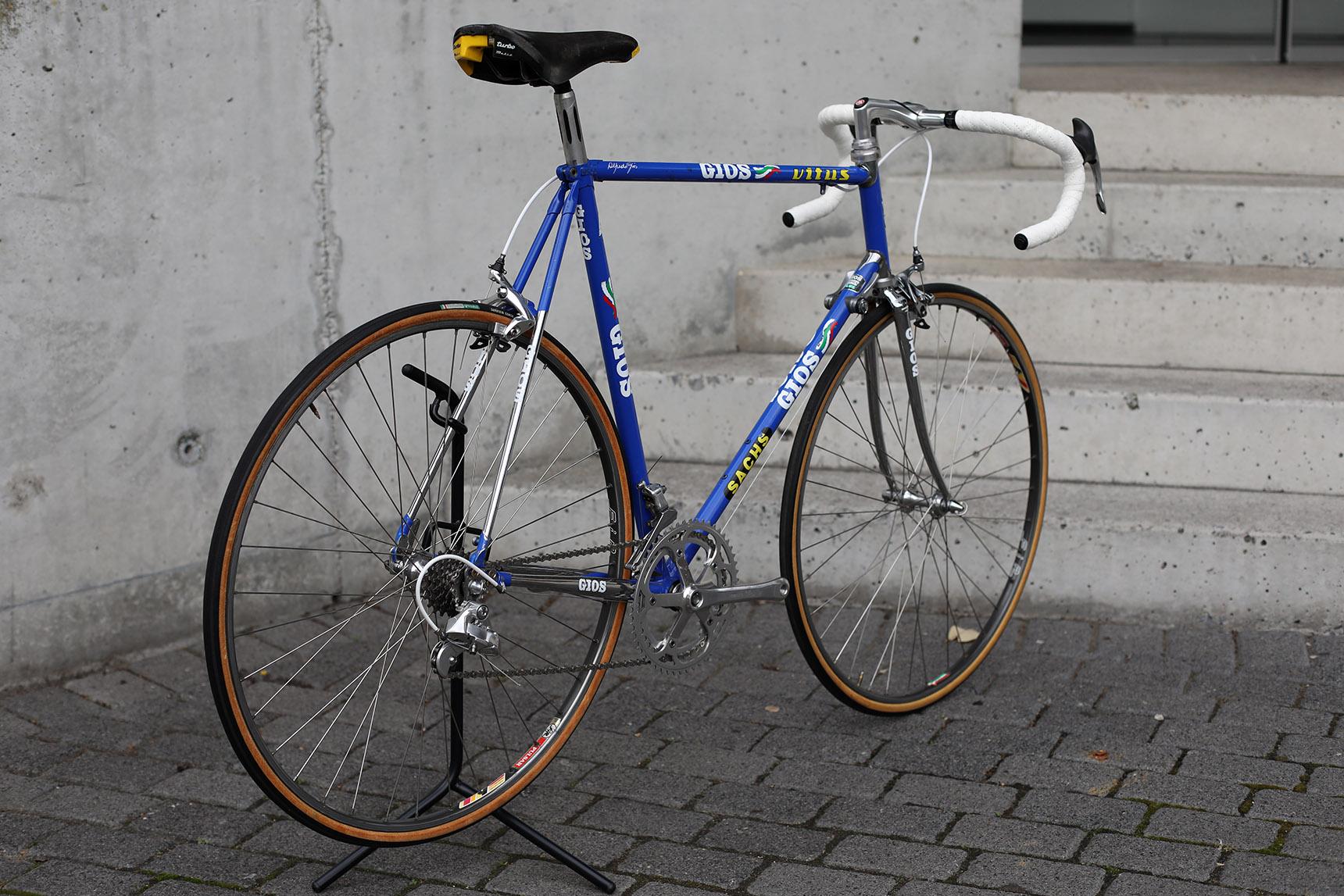 Gios Torino Compact Plus, Tonton Tapis team bike, Francis Moreau